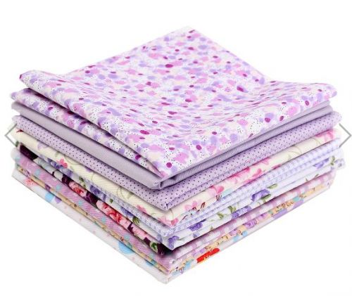 10 Pieces 4 sizes colorful fabric
