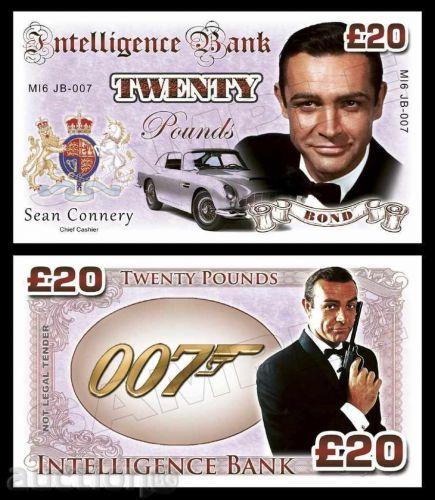 20 pounds Sean Connery - James Bond