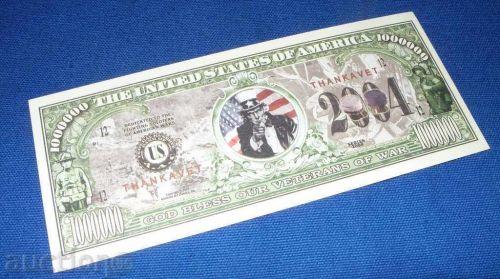 1 million dollars 2004