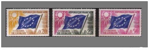 France Conseil de Europa mnh 1963