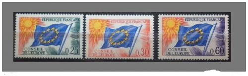 France Conseil de Europa mnh 1965