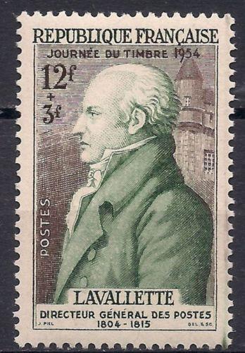 France Lavallette mnh 1954