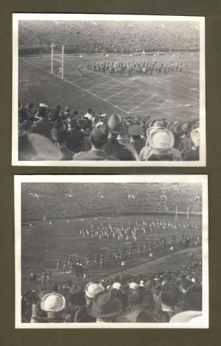 Jan.1,1943 (5) Black & White Photos (Live Images) Of The 1943 Rose Bowl Game!!!