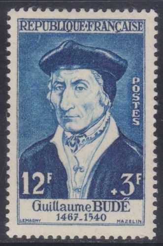 France Guillaume Bude mnh 1956