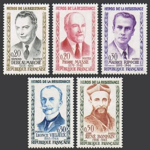 France Heroes mnh 1960