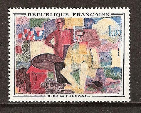 France French Art De La Fresnaye mnh 1961