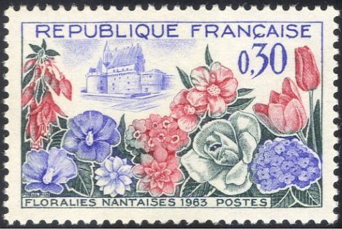 France Nantes Flower Show mnh 1963
