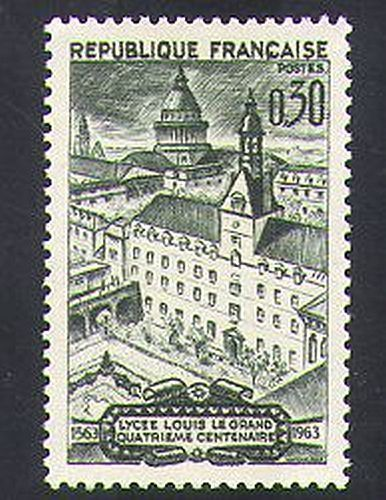 France Louis the Great College mnh 1963
