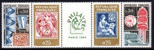 "France PHILATEC"" Exhibition mnh 1964"