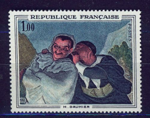 France Painting Daumier mnh 1966