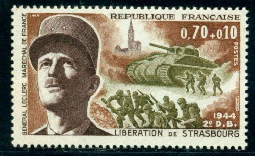 France Liberation of Strasbourg mnh 1969