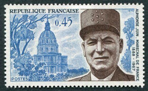 France Marshal Juin Commemoration mnh 1970