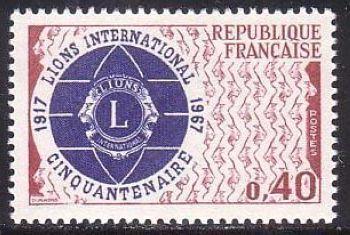 France Lyons mnh 1967