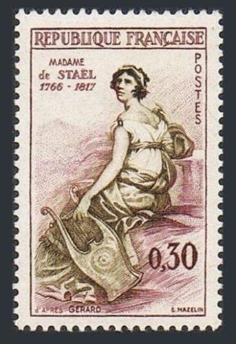France Madame de Staël mnh 1960