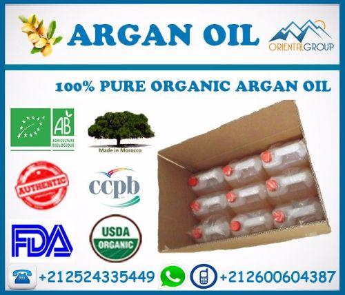 Pure natural Argan oil organic 100% pure in bulk