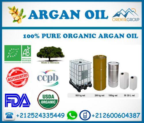 Own Brand Argan Oil Bulk Manufacturer