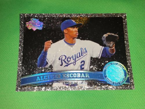 MLB Acids Escobar Royals 2011 TOPPS DIAMOND ANNIVERSARY BASEBALL MNT