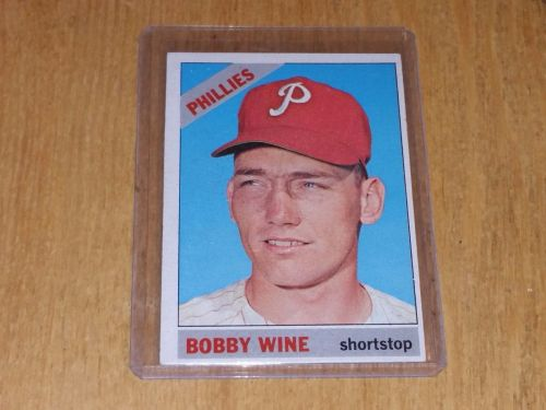 VINTAGE BOBBY WINE PHILLIES 1971 TOPPS #281 GD-VG