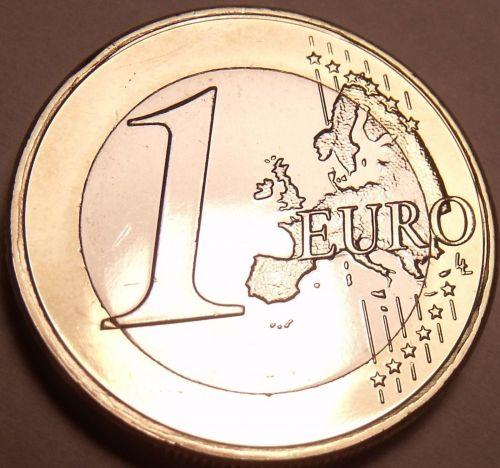 Gem Unc Bi-Metal 2008 Cyprus 1 Euro~Outstanding Bi-Metallic Coin~Free Shipping