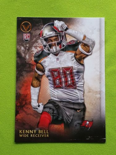 NFL 2015 TOPPS VALOR KENNY BELL BUCCANEERS SUPERSTAR ROOKIE MNT