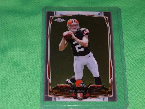 NFL Johnny Manziel Cleveland Browns 2014 Topps Chrome ROOKIE Mnt