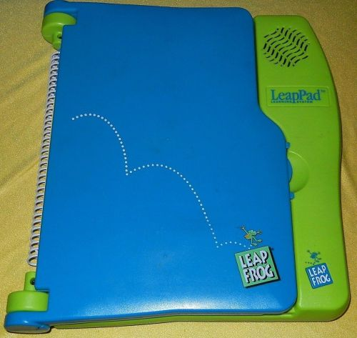 PRE TESTED LeapPad LeapFrog LEARNING SYSTEM w/presch MATH & brand new headphones