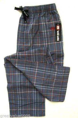 A0341 ecko unltd NEW Men's Autumn Pure Cotton Knit Plaid Lounge Pant BEDFORD 020