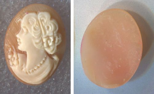 Vintage Carved Cameo Carefully Removed From Gold Jewelry #22703