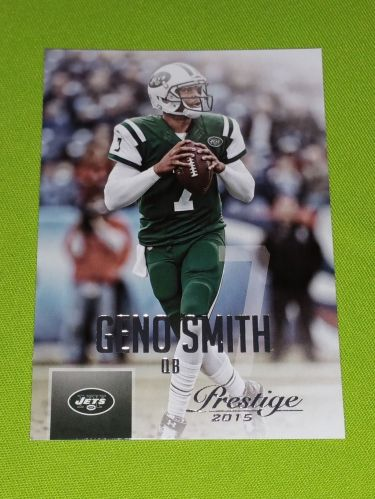 NFL 2015 PANINI PRESTIGE GENO SMITH JETS SUPERSTAR #27 MNT