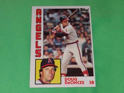 VINTAGE Doug DeCinces Angels Superstar 1984 Topps Baseball GD-VG