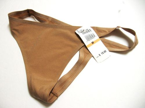 X0014 Felina Intimates NEW 612P Copper Bra of the Year Seamless Sheen Tagless Thong M
