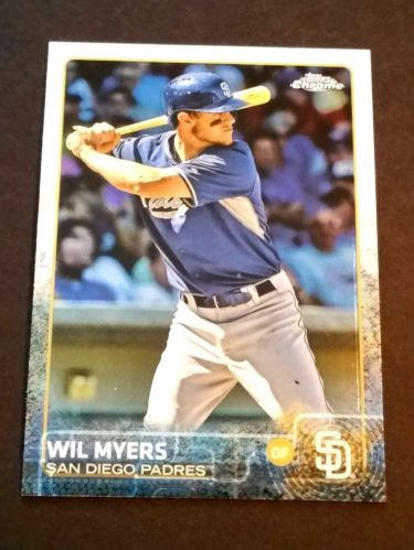 MLB WIL MYERS PADRES SUPERSTAR 2015 TOPPS CHROME #53 MNT