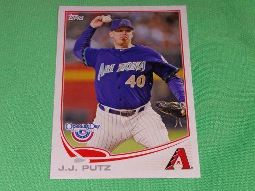 MLB JJ Putz Diamondbacks 2014 Topps Opening Day Baseball GD-VG