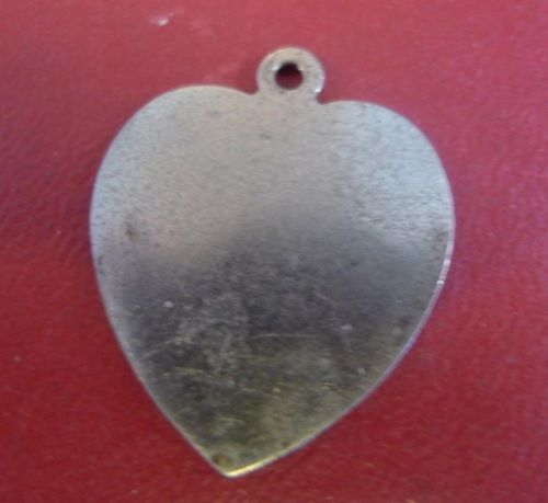 Vintage Sterling Silver Love / Heart Shaped Charm by LAMODE