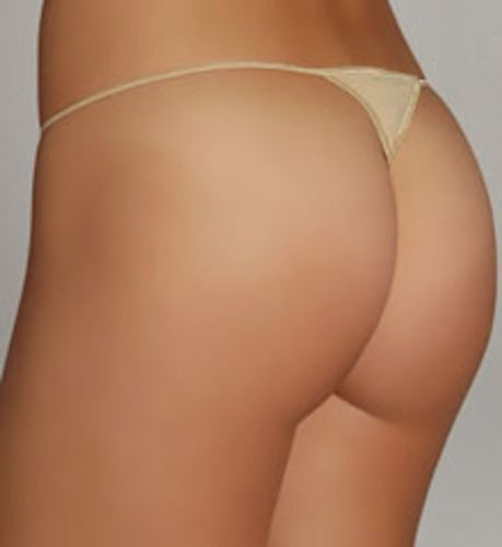 A0345 Le Mystere NEW 855 L'image Y-Not String Low Ride Soft Microfiber Thong PR