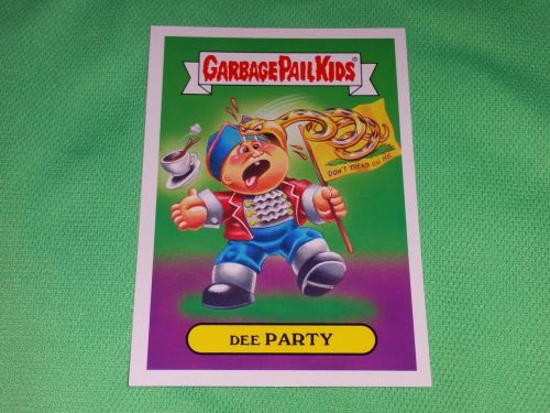 RARE 2016 DEE PARTY GARBAGE PAIL KIDS Collectors Card Mnt