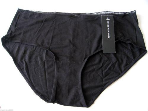 A0119 Jones New York Women's Tagless Modal Hipster 670134 Nude Black New