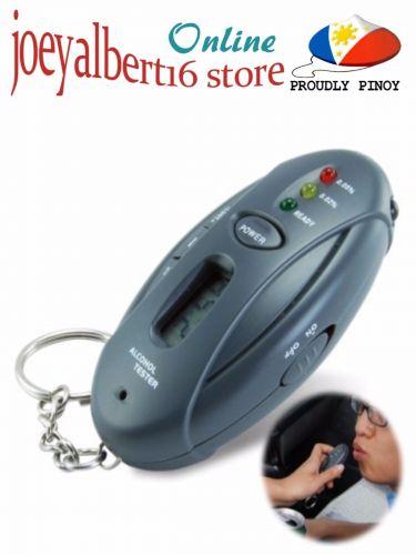 Breathalyzer Keychain Car Gadget - Flashlight + Stopwatch