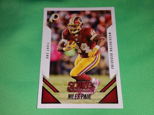 NFL Niles Paul Washington Redskins SUPERSTAR 2015 PANIN FOOTBALL GEM MNT
