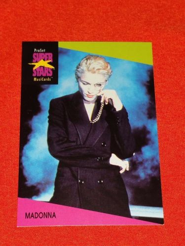 RETRO MADONNA 1992 PROSET ROCK & ROLL COLLECTORS CARD #67 MNT