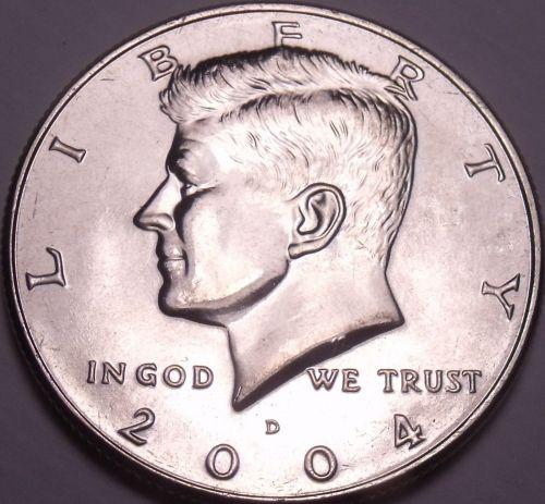 United States Unc 2004-D Kennedy Half Dollar~Free Shipping