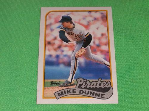 MLB Mike Dunn Pirates 1989 Topps Baseball GD-VG