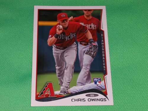 MLB Chris Owings Diamondbacks 2014 Topps Rookie Baseball MNT