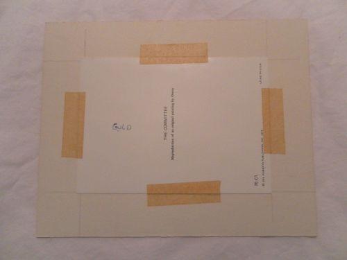 "Robert Owen ""The Committee"" of Clowns Vintage Advertising Card 5X7"