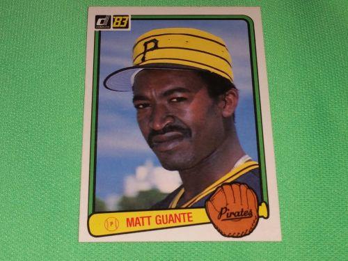 VINTAGE Matt Guante Pirates Superstat 1983 Donruss Baseball GD-VG