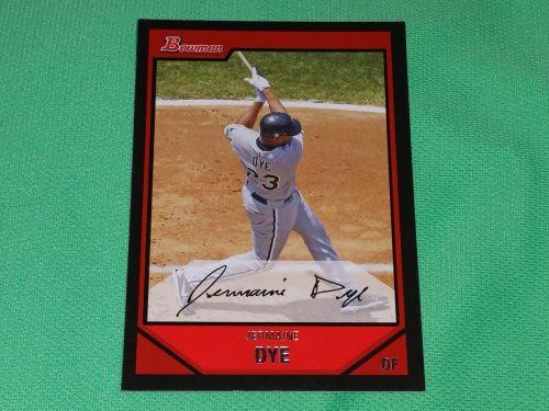 MLB Jermaine dye White Sox 2007 Bowman Baseball GD-VG