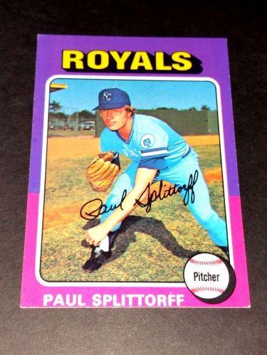 VINTAGE PAUL SPLITOFF ROYALS 1975 TOPPS #340 GD-VG