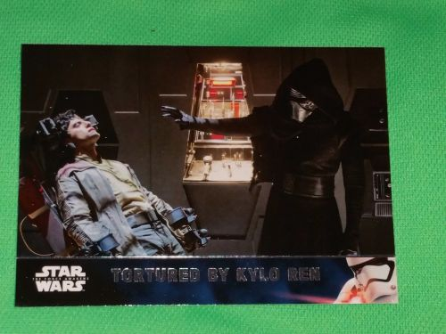 2016 Topps Star Wars tortured by kylo Ren Collectible Trading Card Mnt