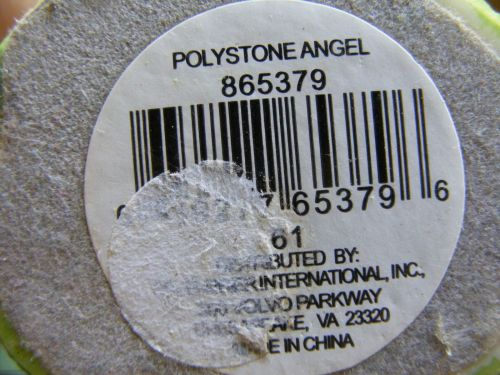 "Greenbrier International 6"" Multicolor Polystone Angel Figurine w/ Watering Can"