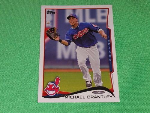 MLB MICHEAL BRANTLEY INDIANS 2014 Topps Baseball GD-VG